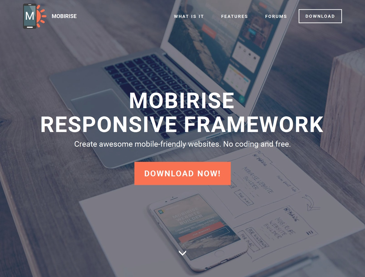 Mobile Responsive Site Template
