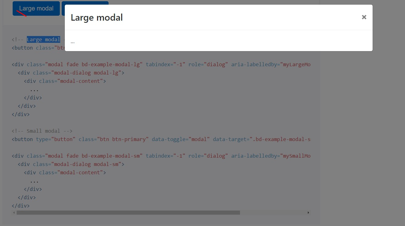 Bootstrap Modal Button