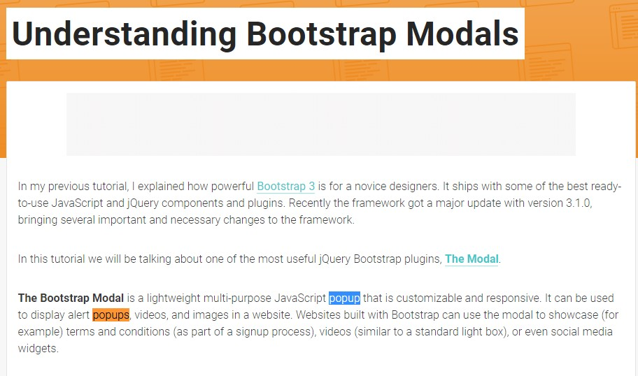 Another  helpful  post  concerning Bootstrap Modal Popup