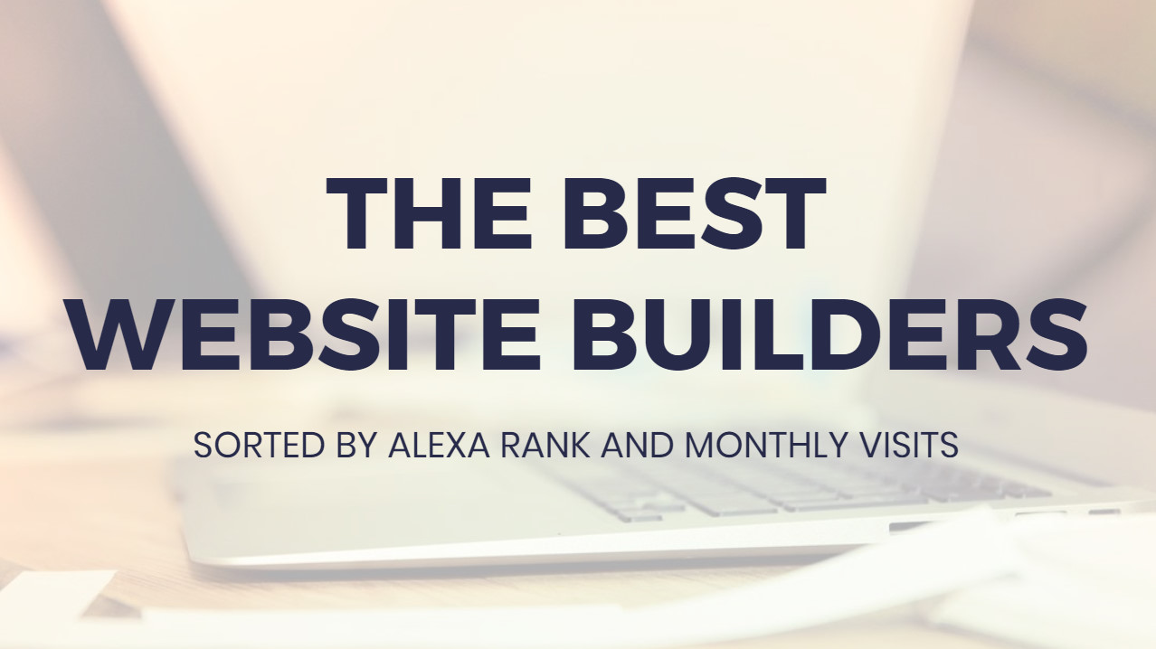 Absolute best  Internet Site Builders