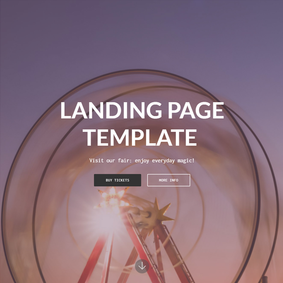 Responsive Bootstrap Landing Page Themes
