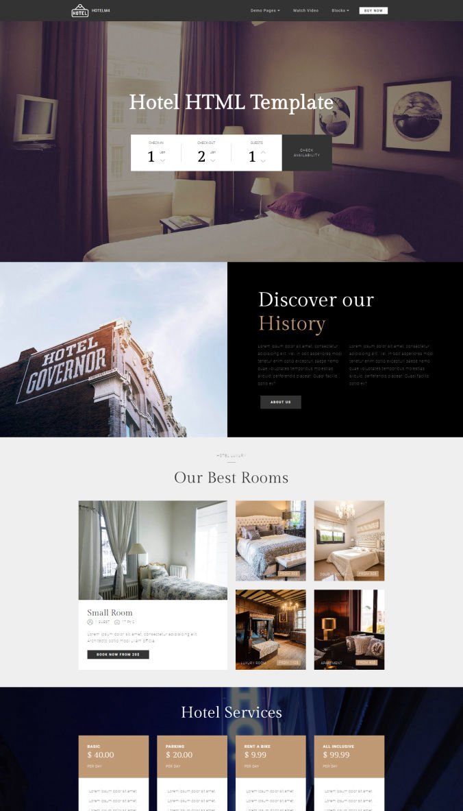 CSS Website Template