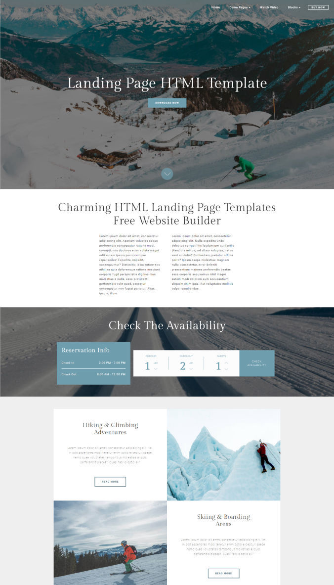 Perfect Website Template